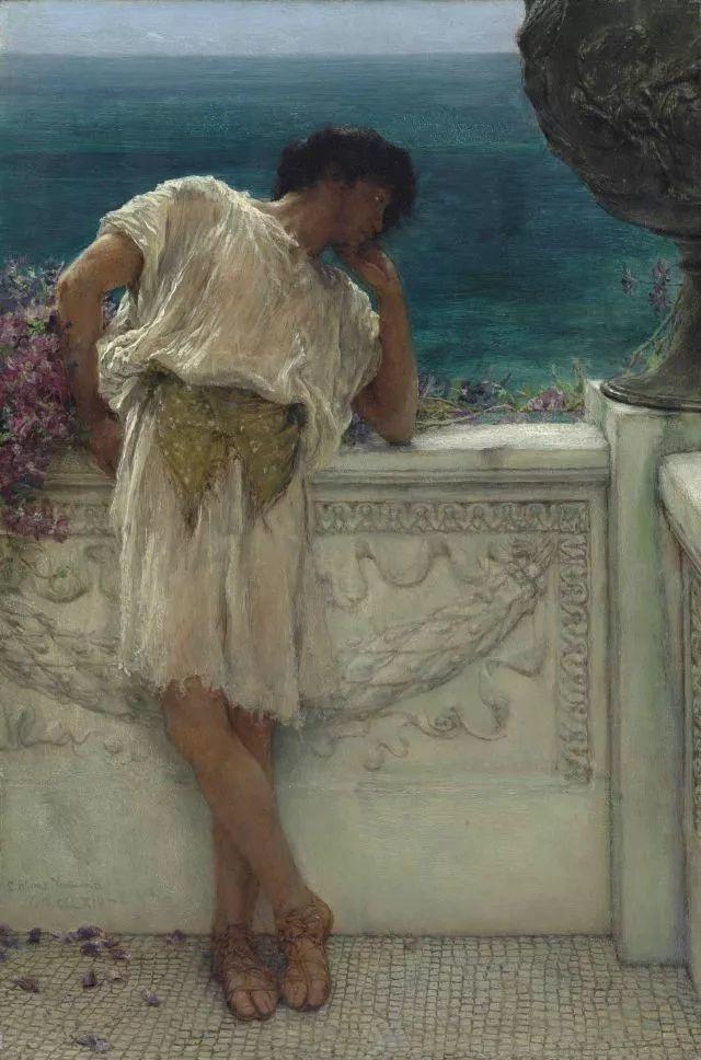 超群的写实技巧和优美的画面构成,英国画家Lawrence Alma Tadema插图37