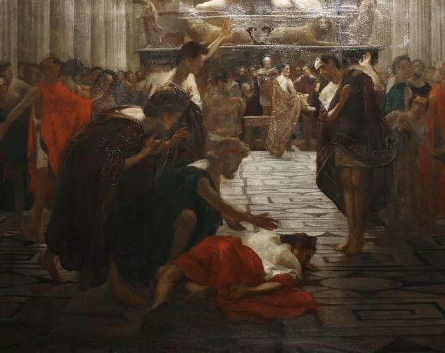 超群的写实技巧和优美的画面构成,英国画家Lawrence Alma Tadema插图40
