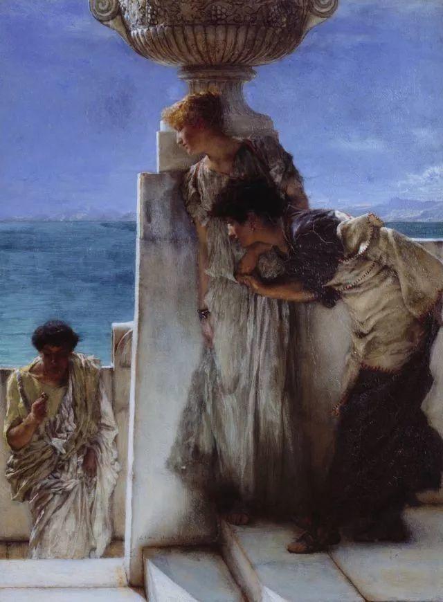 超群的写实技巧和优美的画面构成,英国画家Lawrence Alma Tadema插图41