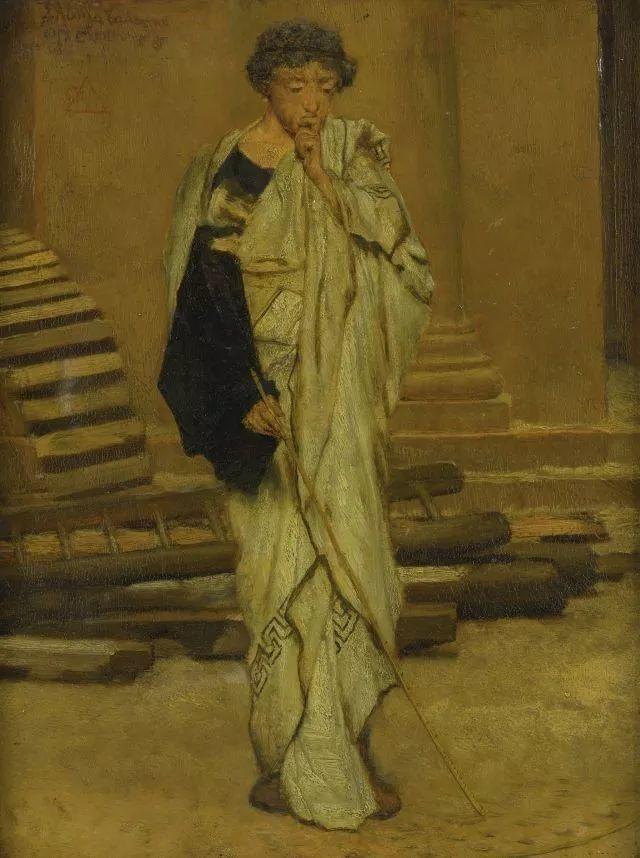 超群的写实技巧和优美的画面构成,英国画家Lawrence Alma Tadema插图42