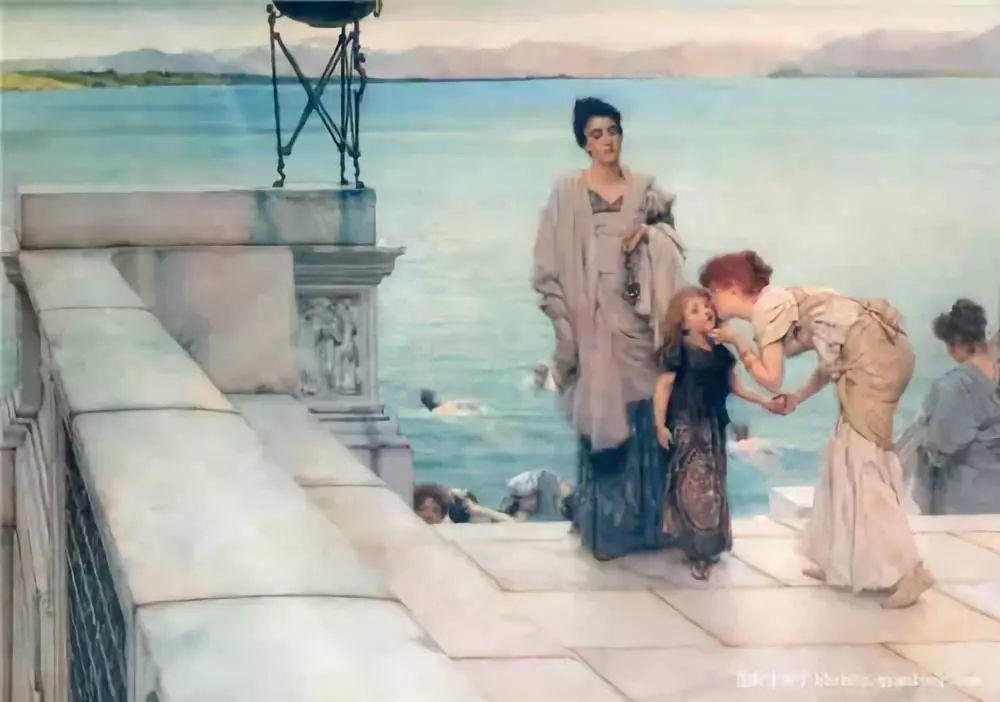超群的写实技巧和优美的画面构成,英国画家Lawrence Alma Tadema插图46