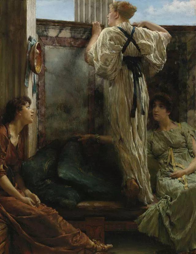 超群的写实技巧和优美的画面构成,英国画家Lawrence Alma Tadema插图47