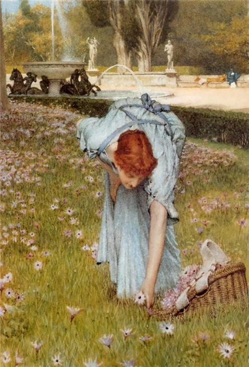 超群的写实技巧和优美的画面构成,英国画家Lawrence Alma Tadema插图49