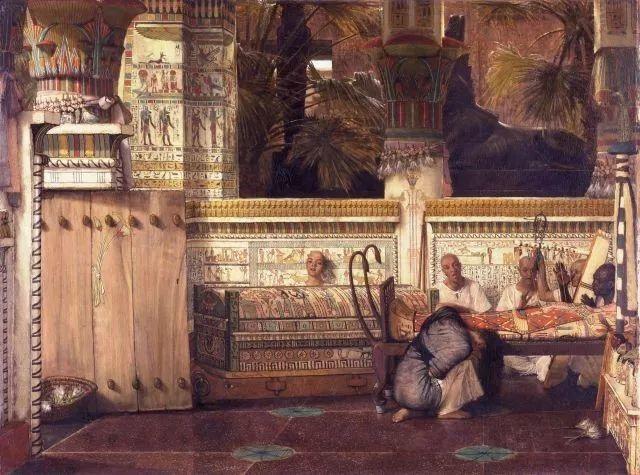 超群的写实技巧和优美的画面构成,英国画家Lawrence Alma Tadema插图50