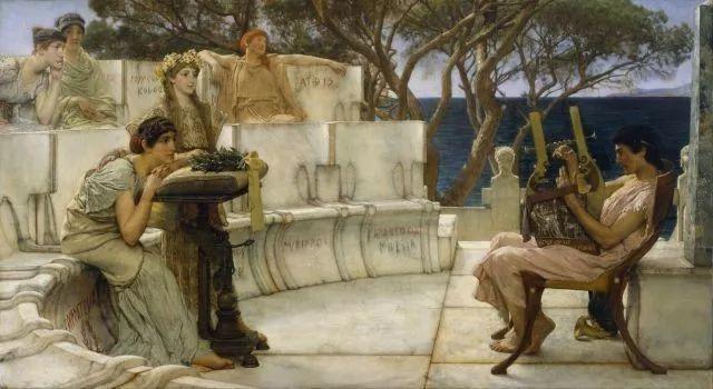 超群的写实技巧和优美的画面构成,英国画家Lawrence Alma Tadema插图51