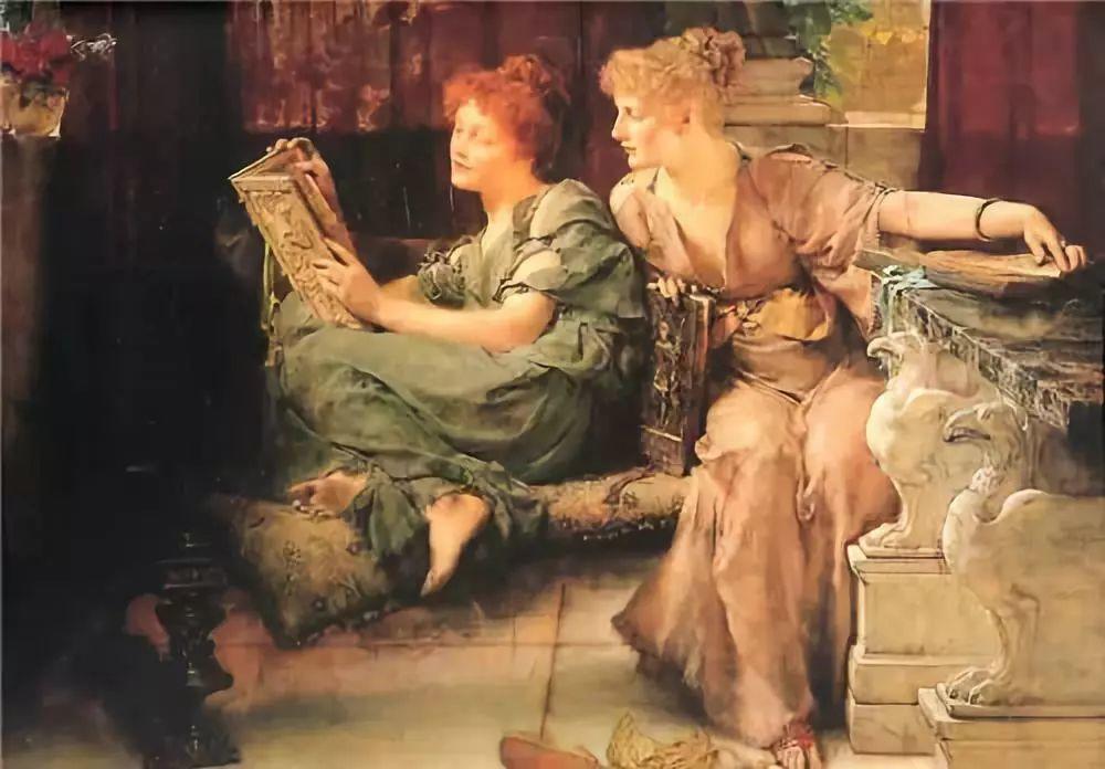 超群的写实技巧和优美的画面构成,英国画家Lawrence Alma Tadema插图52