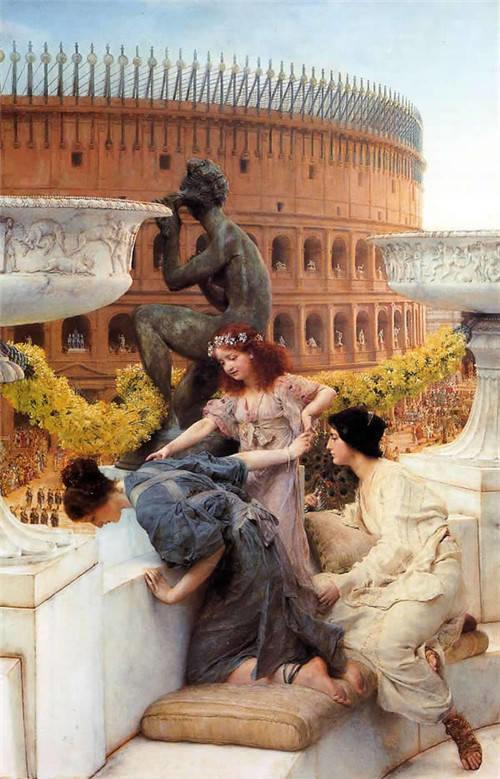 超群的写实技巧和优美的画面构成,英国画家Lawrence Alma Tadema插图53