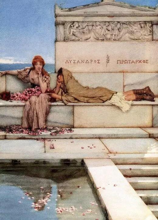 超群的写实技巧和优美的画面构成,英国画家Lawrence Alma Tadema插图54