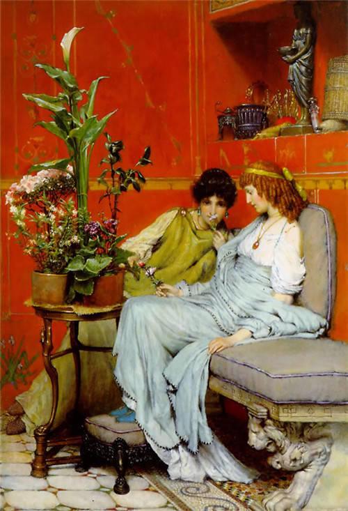 超群的写实技巧和优美的画面构成,英国画家Lawrence Alma Tadema插图55