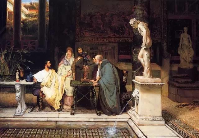 超群的写实技巧和优美的画面构成,英国画家Lawrence Alma Tadema插图56