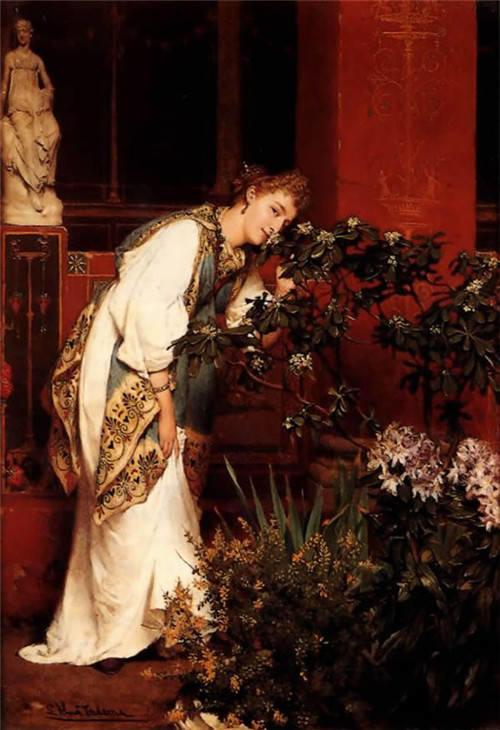 超群的写实技巧和优美的画面构成,英国画家Lawrence Alma Tadema插图57