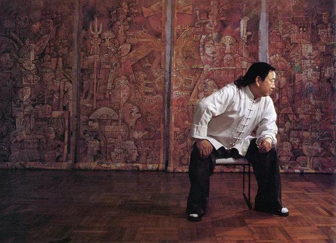 石虎90年代油画作品欣赏插图2