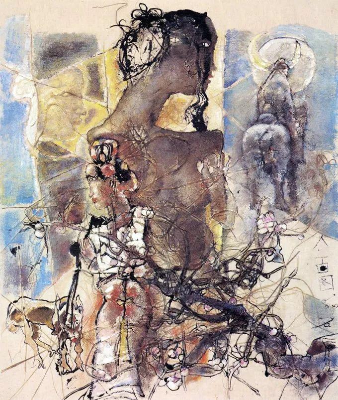 石虎90年代油画作品欣赏插图4