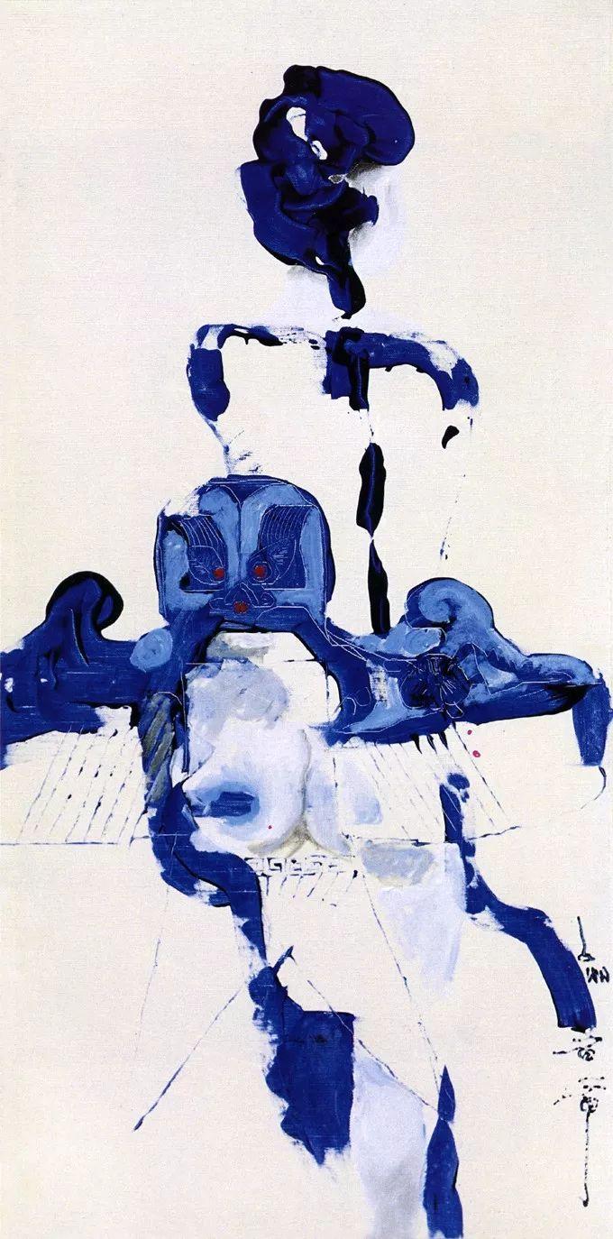 石虎90年代油画作品欣赏插图5