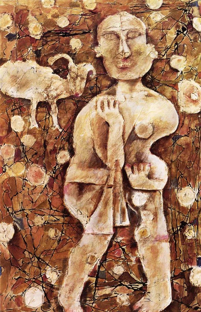 石虎90年代油画作品欣赏插图6