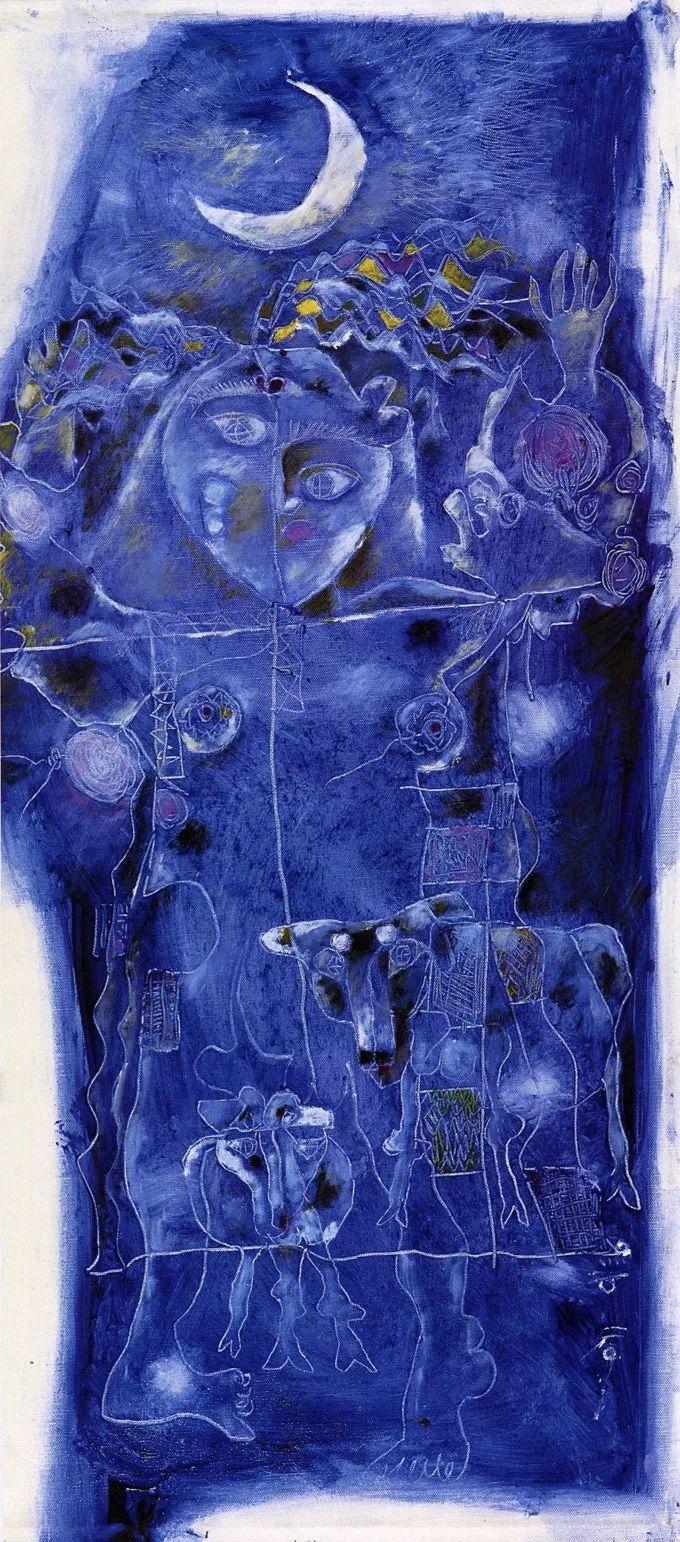 石虎90年代油画作品欣赏插图7