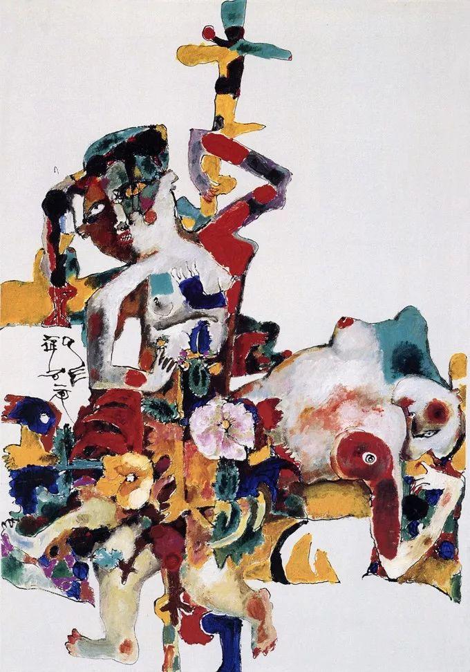 石虎90年代油画作品欣赏插图9