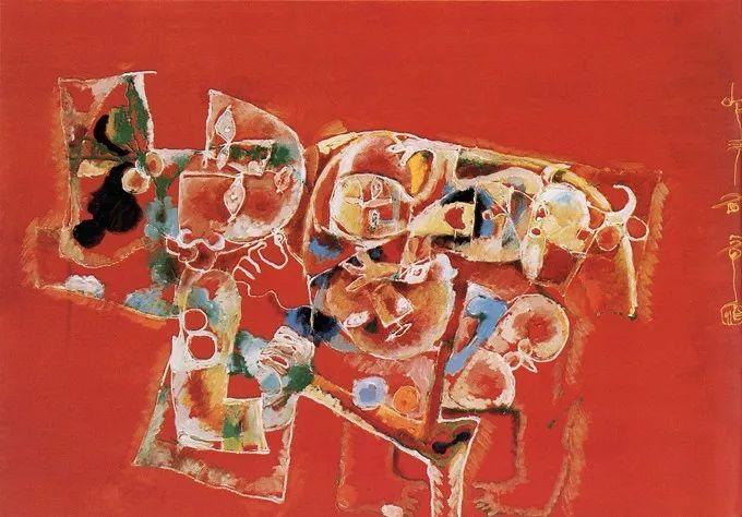 石虎90年代油画作品欣赏插图11