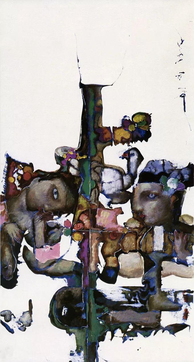 石虎90年代油画作品欣赏插图12
