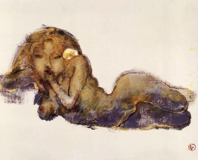 石虎90年代油画作品欣赏插图15
