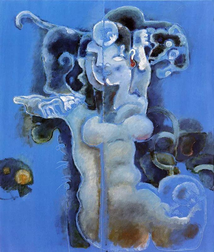 石虎90年代油画作品欣赏插图17