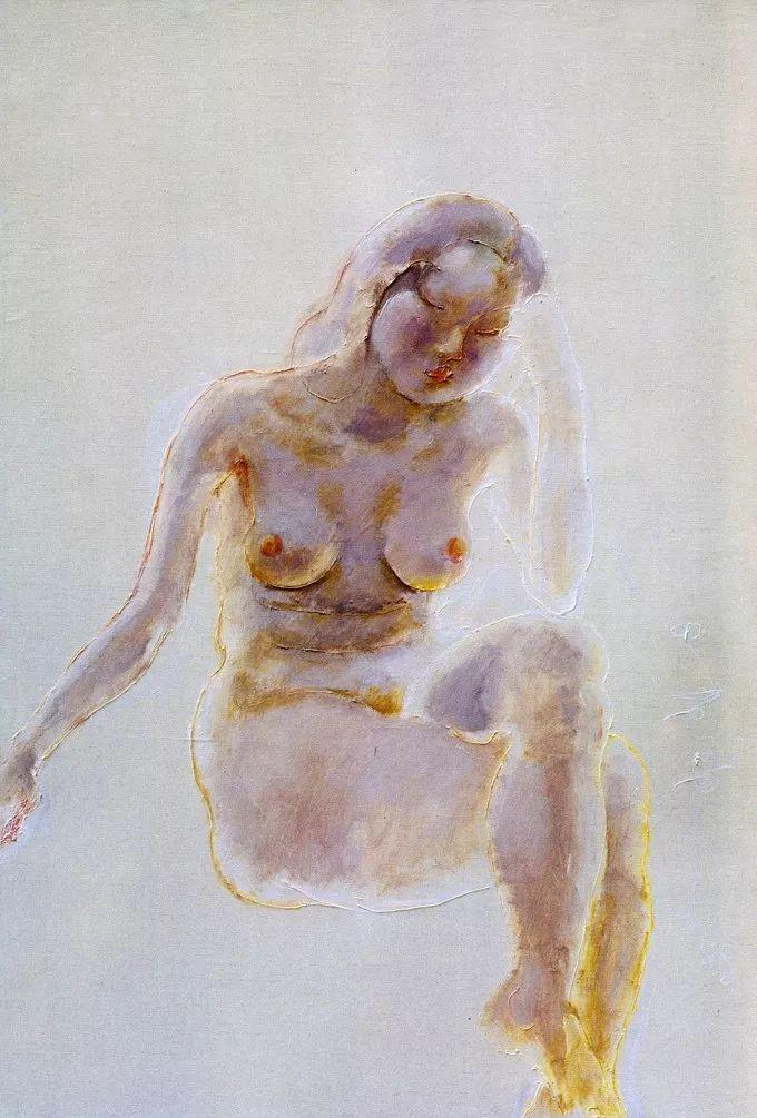 石虎90年代油画作品欣赏插图18