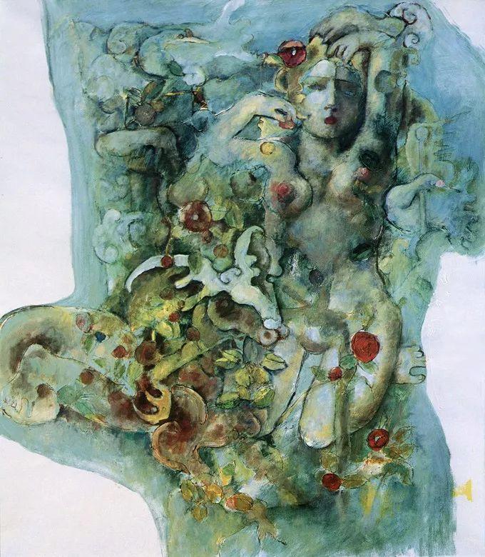 石虎90年代油画作品欣赏插图20