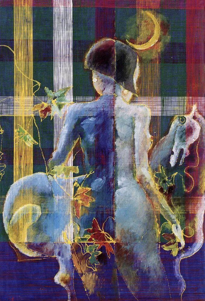 石虎90年代油画作品欣赏插图22