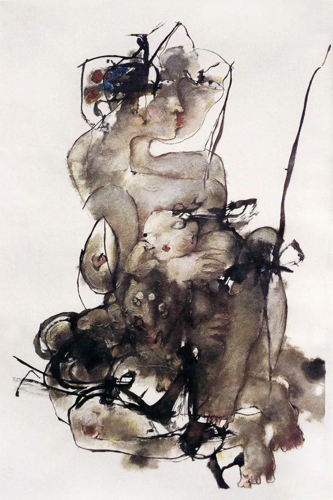 石虎90年代油画作品欣赏插图28