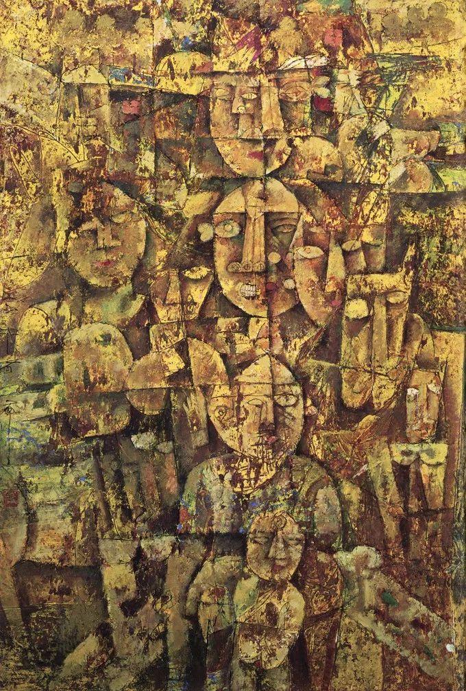 石虎90年代油画作品欣赏插图30