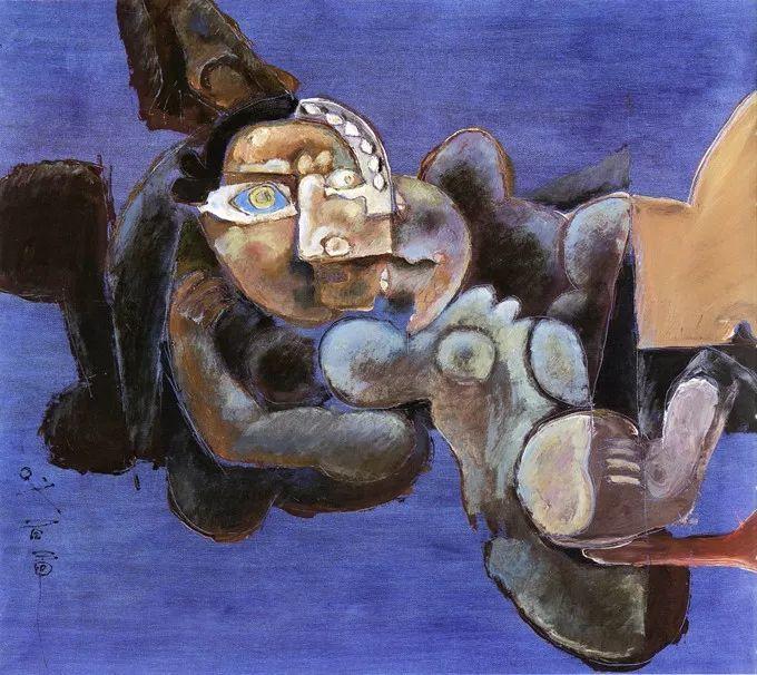 石虎90年代油画作品欣赏插图31