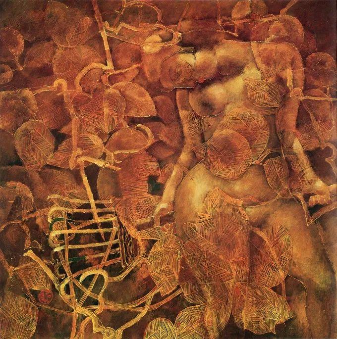 石虎90年代油画作品欣赏插图32