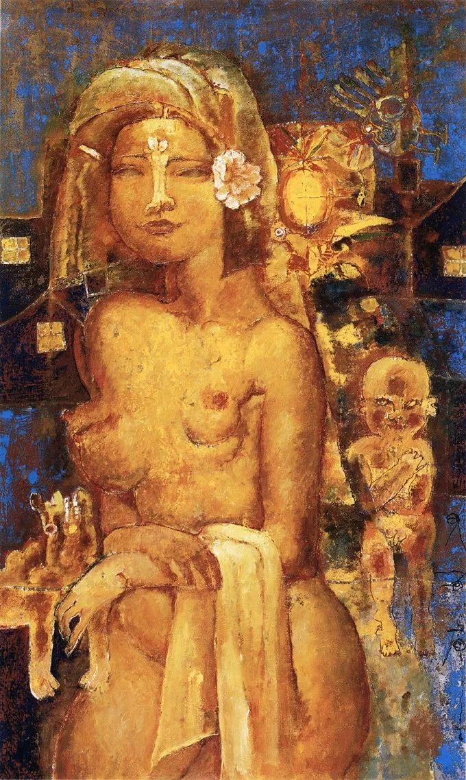 石虎90年代油画作品欣赏插图33