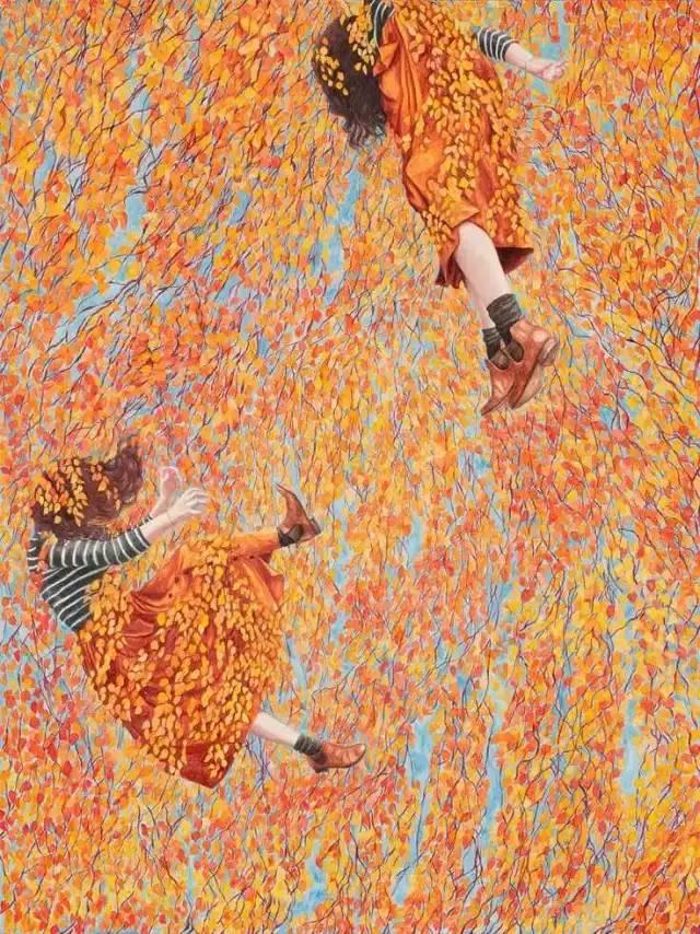 坠入花间的精灵,澳大利亚Monica Rohan插图3
