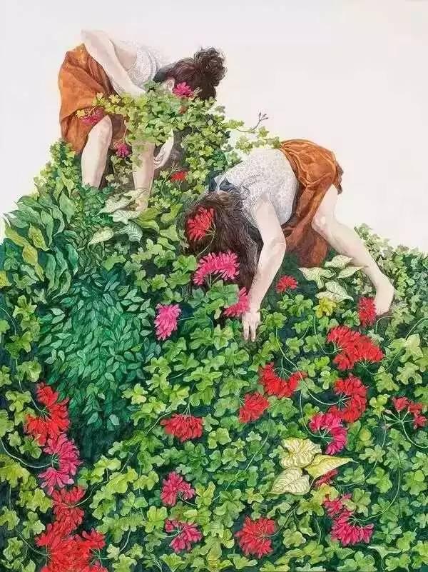 坠入花间的精灵,澳大利亚Monica Rohan插图18