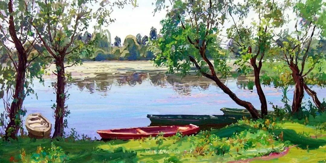 充满阳光的风景,克里米亚艺术家Vladimir Olkhov插图10