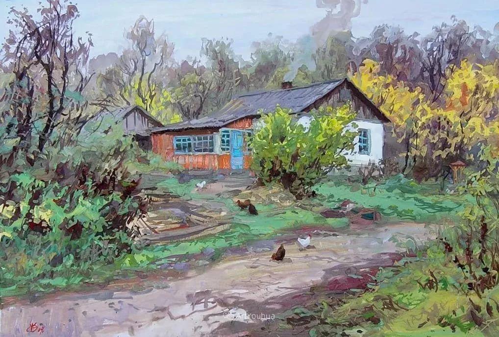 充满阳光的风景,克里米亚艺术家Vladimir Olkhov插图25