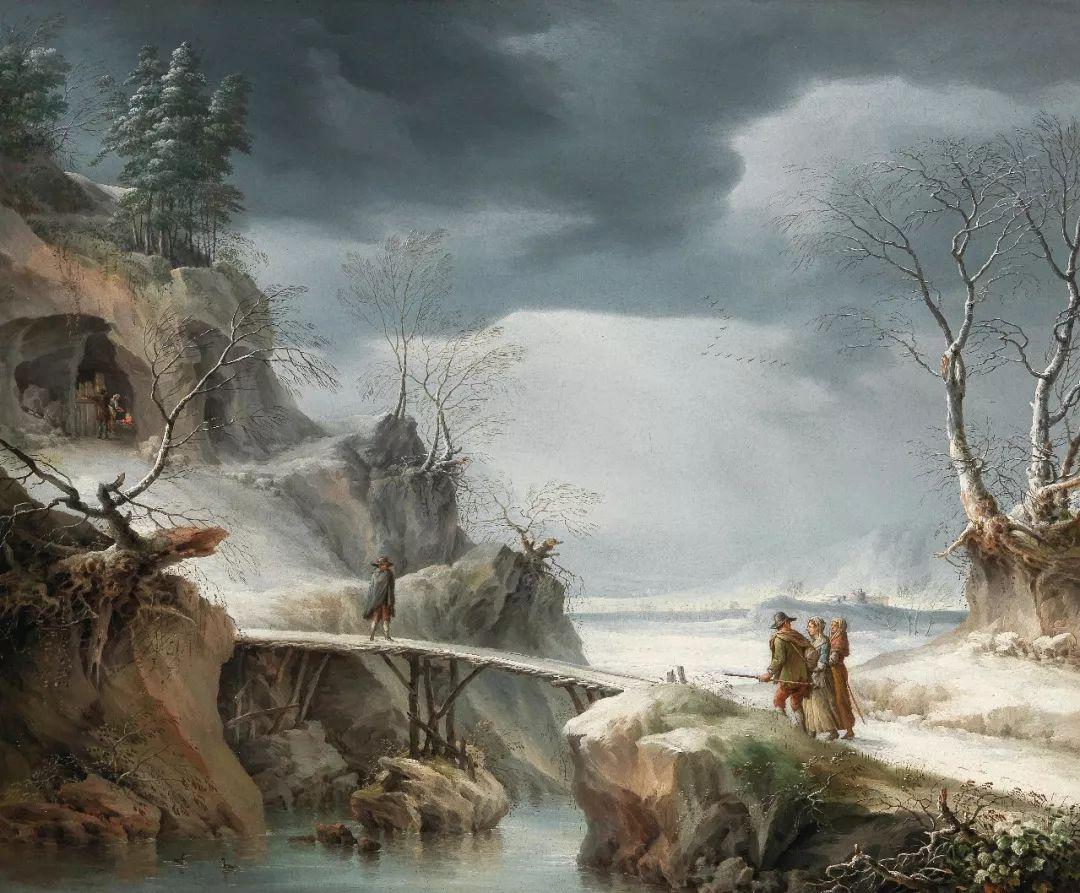 犹如仙境的冬季风景画,意大利艺术家Francesco Foschi插图4