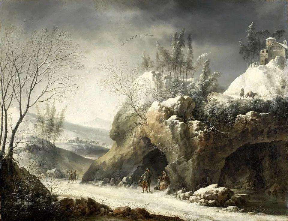 犹如仙境的冬季风景画,意大利艺术家Francesco Foschi插图11