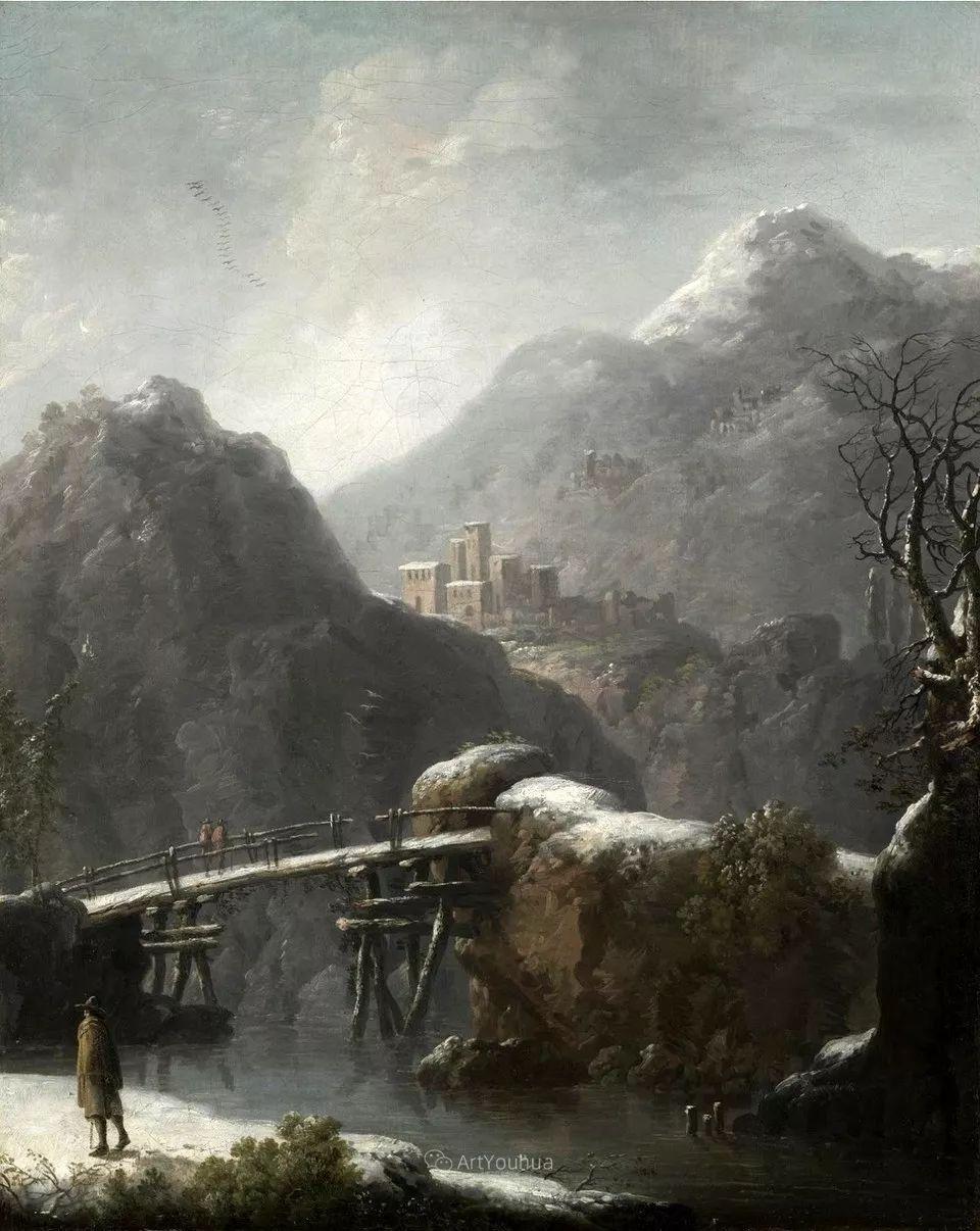 犹如仙境的冬季风景画,意大利艺术家Francesco Foschi插图18