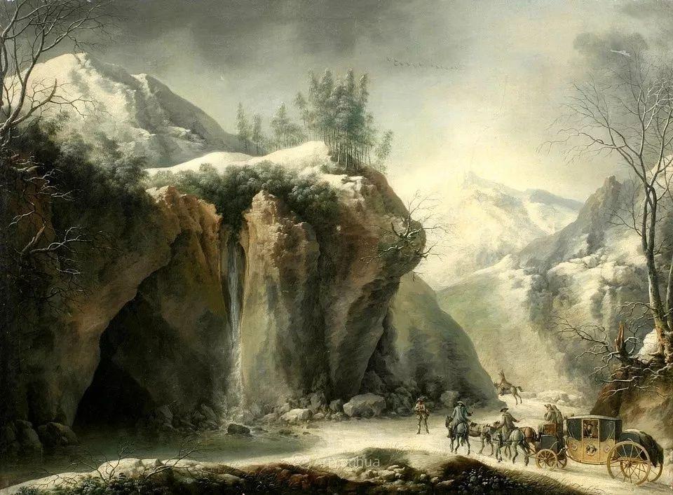 犹如仙境的冬季风景画,意大利艺术家Francesco Foschi插图21