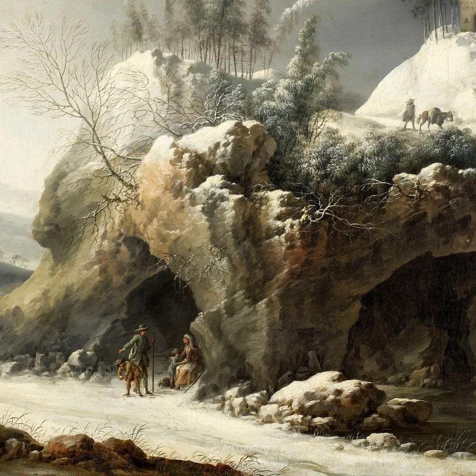 犹如仙境的冬季风景画,意大利艺术家Francesco Foschi插图24