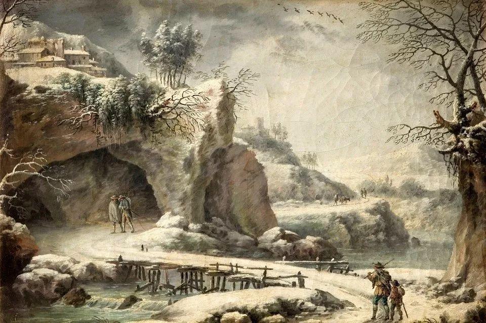 犹如仙境的冬季风景画,意大利艺术家Francesco Foschi插图25