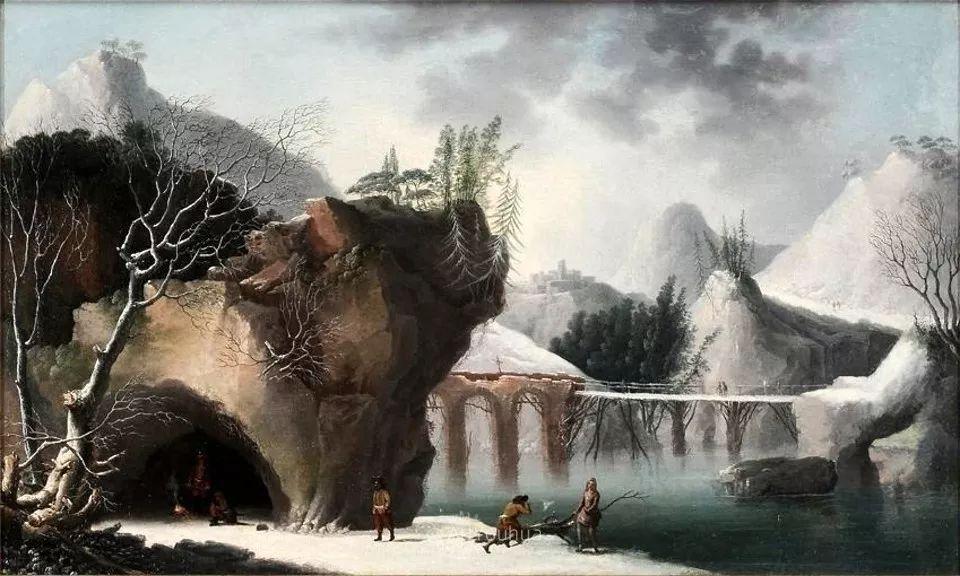 犹如仙境的冬季风景画,意大利艺术家Francesco Foschi插图26