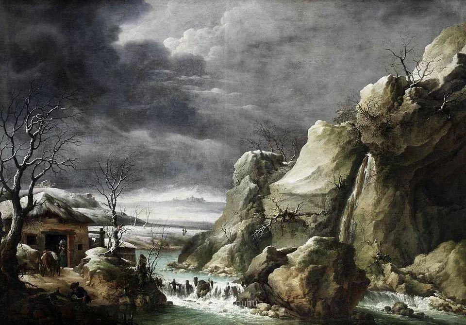 犹如仙境的冬季风景画,意大利艺术家Francesco Foschi插图28