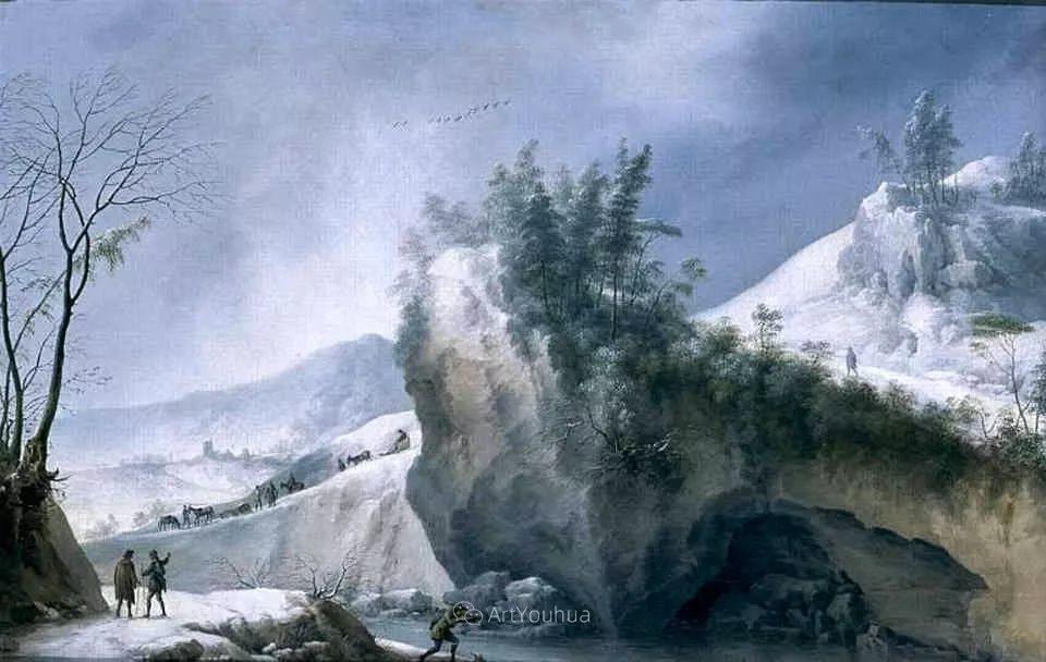 犹如仙境的冬季风景画,意大利艺术家Francesco Foschi插图32