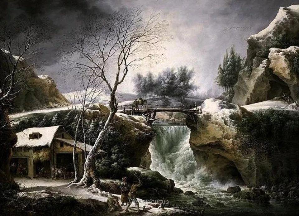 犹如仙境的冬季风景画,意大利艺术家Francesco Foschi插图33