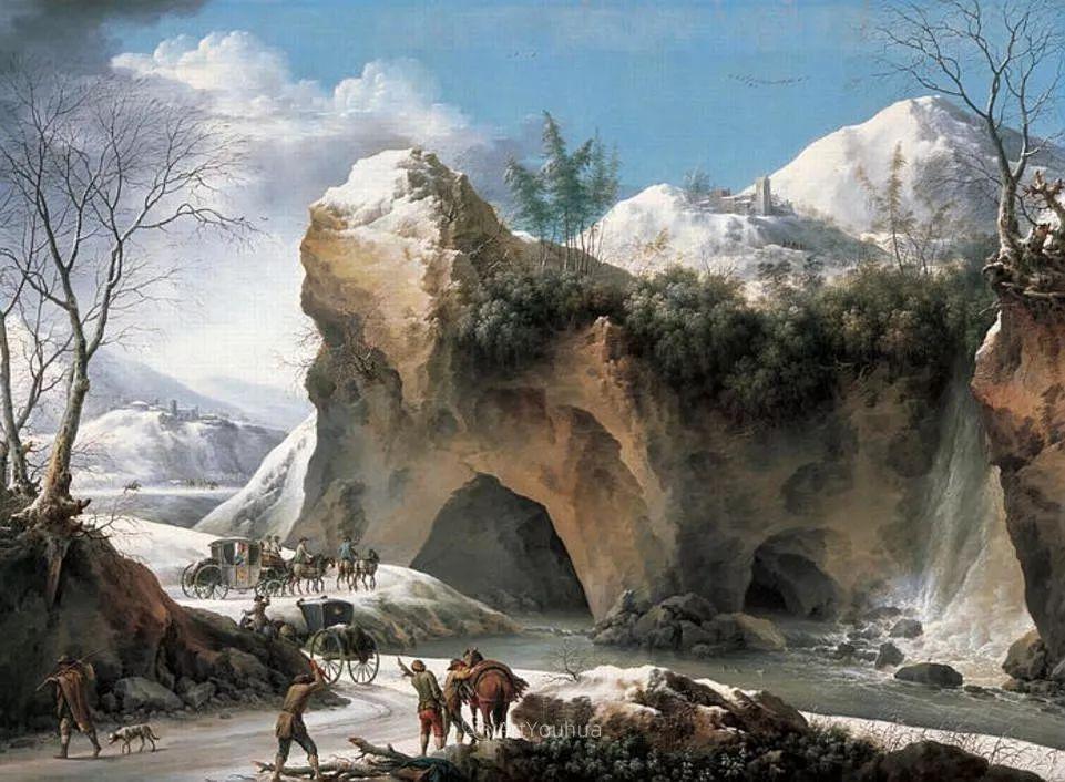 犹如仙境的冬季风景画,意大利艺术家Francesco Foschi插图34