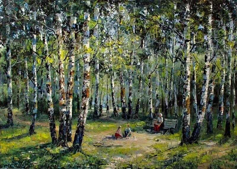 他的风景画里没有忧伤,俄罗斯画家Eugene Sinev插图11