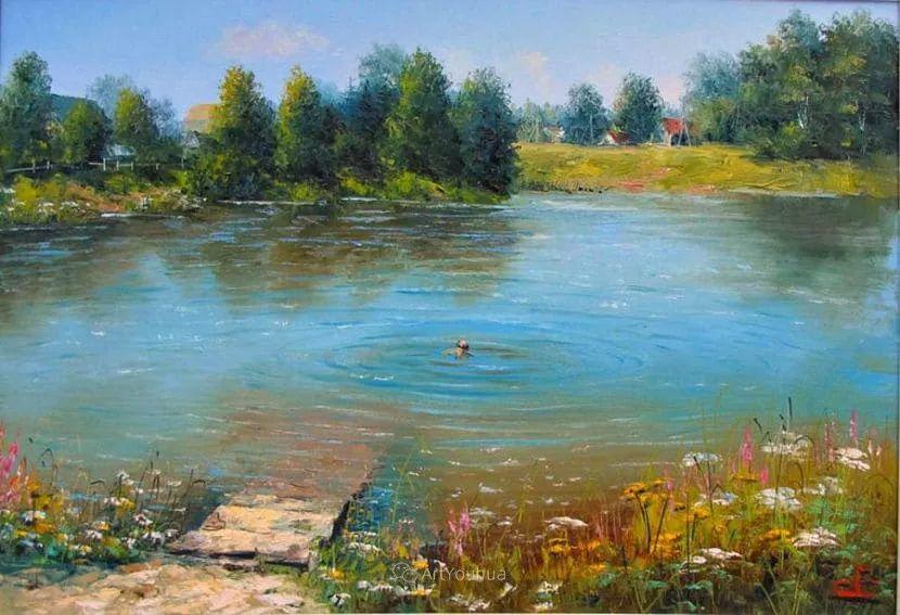 他的风景画里没有忧伤,俄罗斯画家Eugene Sinev插图39
